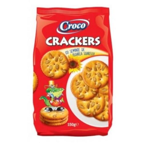 Croco Crackers Seminte Floarea Soarelui 150g *12